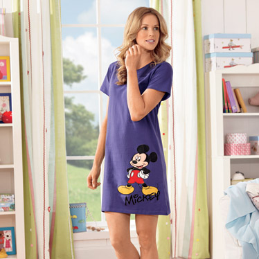 Chemise de nuit pyjama femme