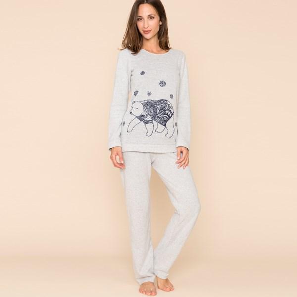 Pyjama femme chaud et elegant