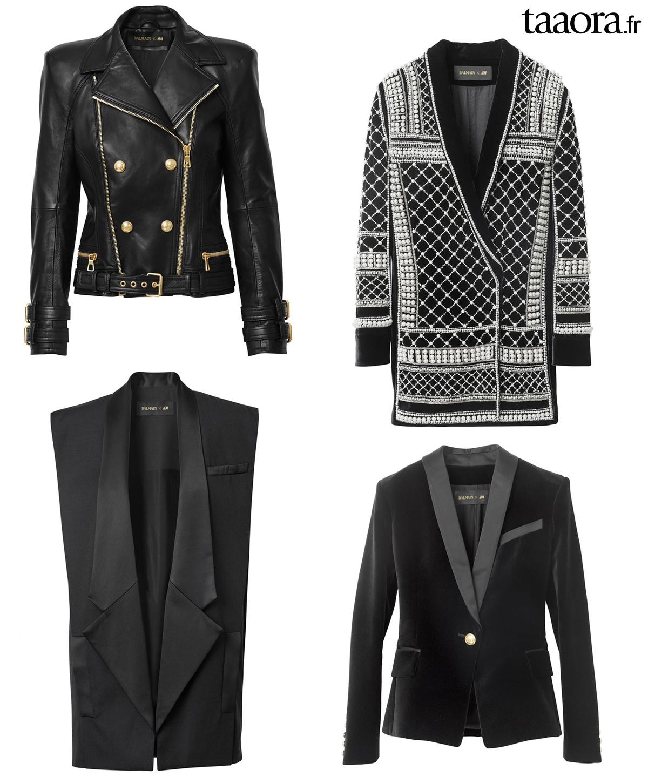 Veste noire femme h et m - Idée pour s habiller a60724fdfda