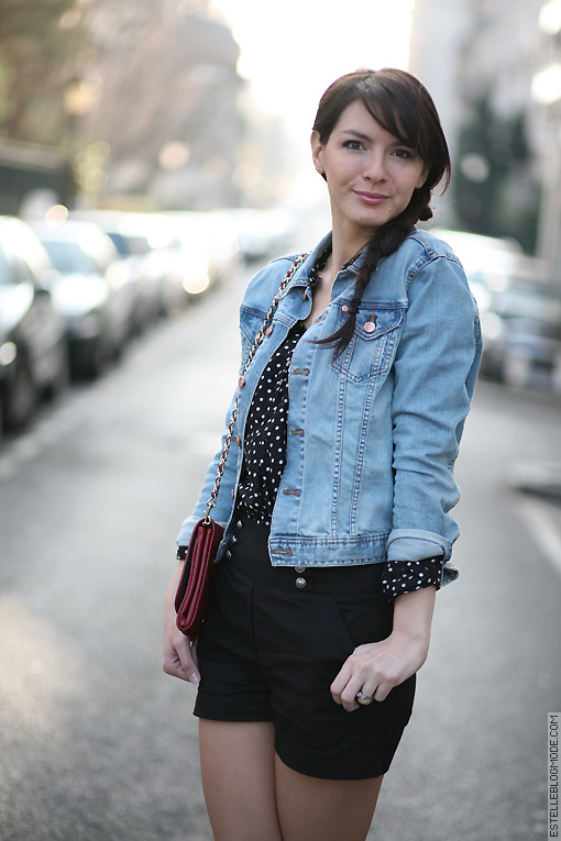 Femme Veste Jeans info oleo H Vinny M Vegetal rr5fq1