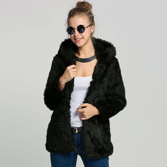 Veste femme a fourrure - Idée pour s habiller cfe511a9236