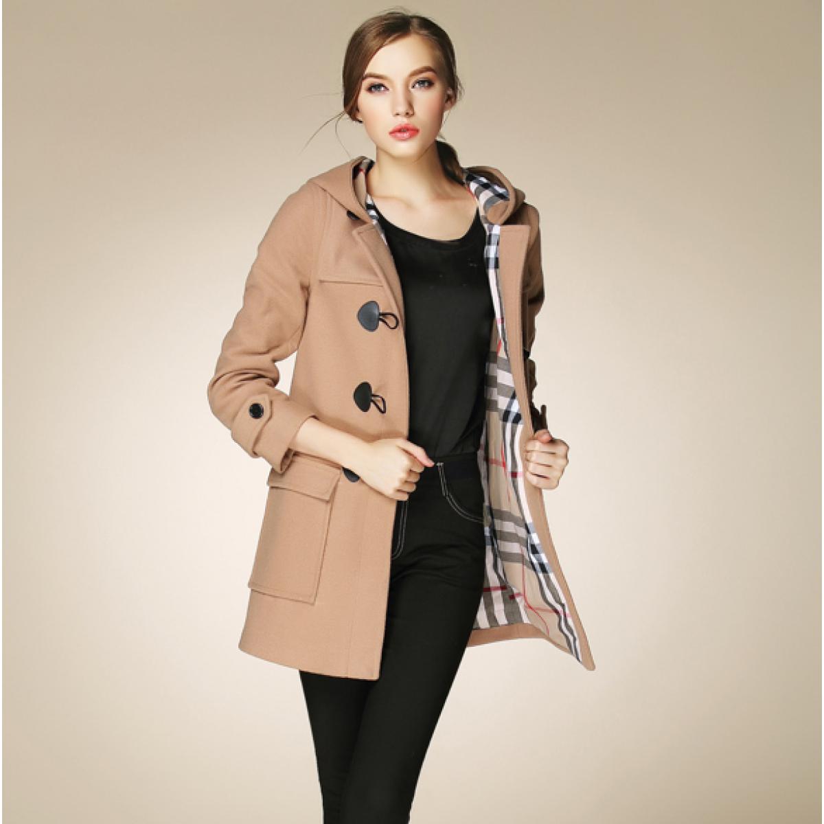 Veste laine femme avec capuche - Idée pour s habiller 25aa74218e99