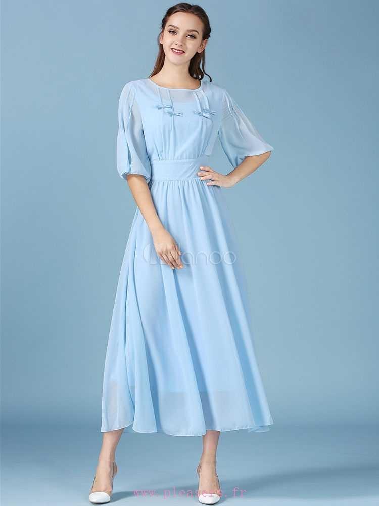 Robe femme soie