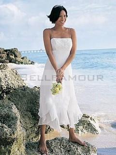 Robe de mariée courte pour la plage