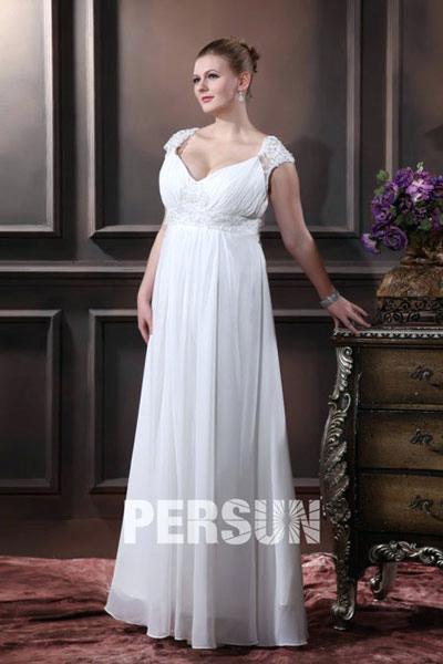 Robe empire invite mariage