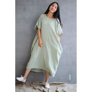 Robe en coton sans manche