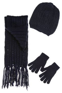 Ensemble gants echarpe homme