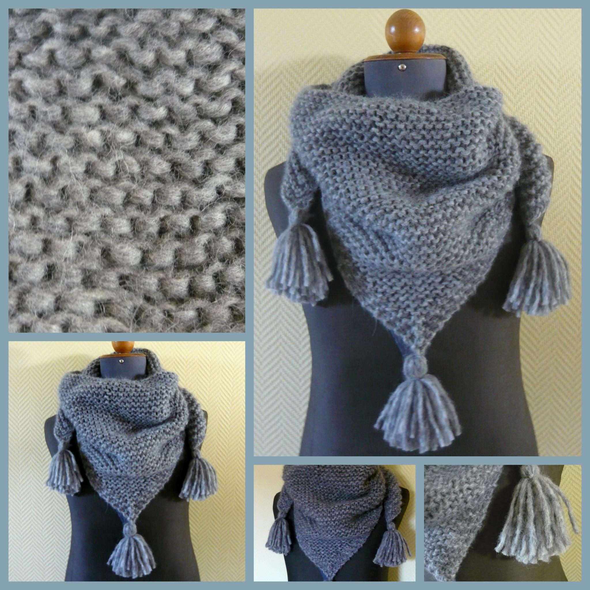 f5840262686b Tuto écharpe femme au crochet - Idée pour s habiller
