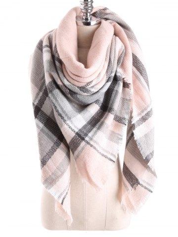 cbc630440602 écharpe plaid clair - Idée pour s habiller