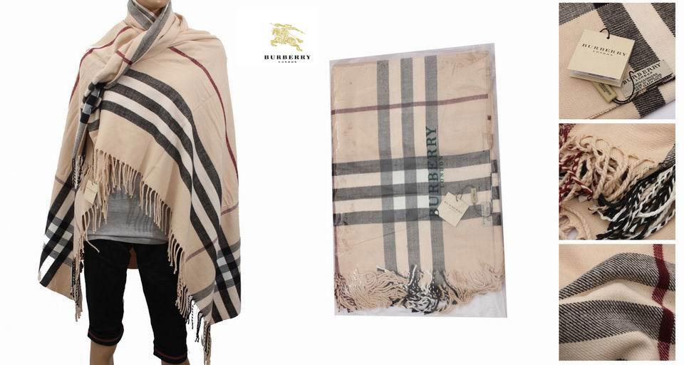 363337d14619 Echarpe burberry femme beige - Idée pour s habiller