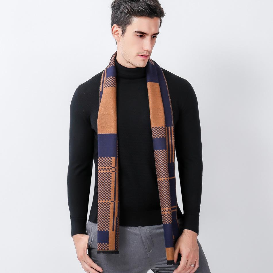 Echarpe automne laine - cachemire