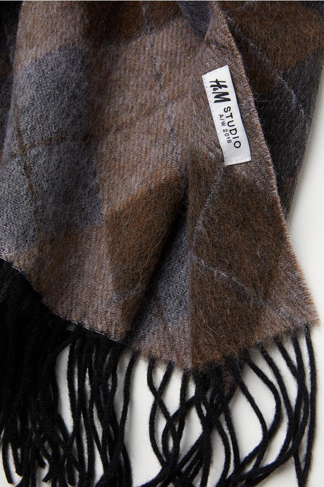 0a5cbe1253d Echarpe en laine homme h m - Idée pour s habiller