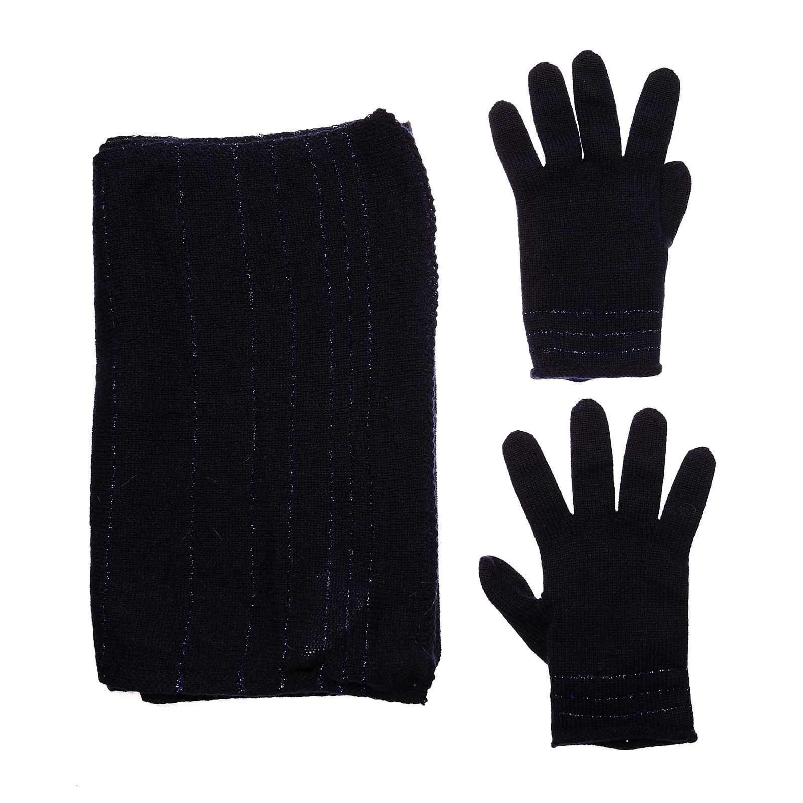 Echarpe et gants en cachemire