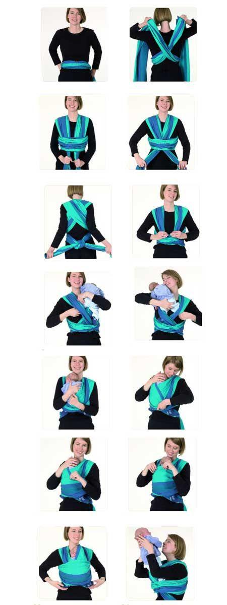 Technique de portage en écharpe - Idée pour s habiller ef1a2d93440