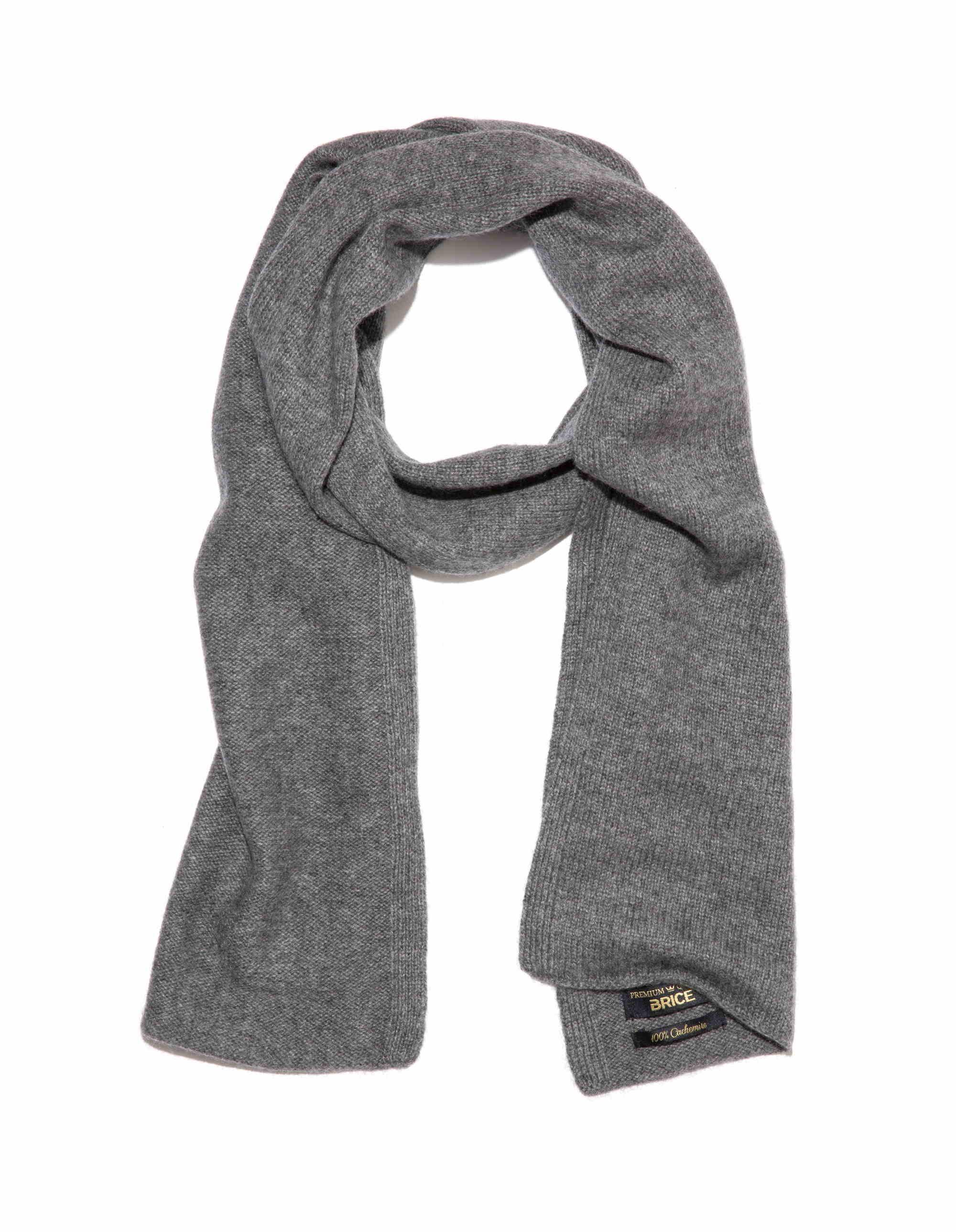 067eb5339945 Echarpe cachemire gris clair - Idée pour s habiller
