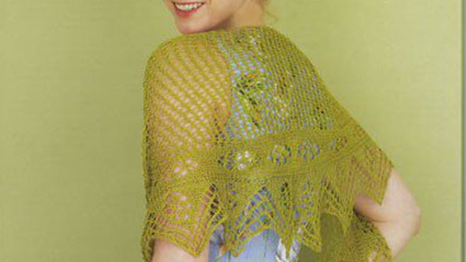 302de3670752 Modele echarpe tricot dentelle gratuit - Idée pour s habiller