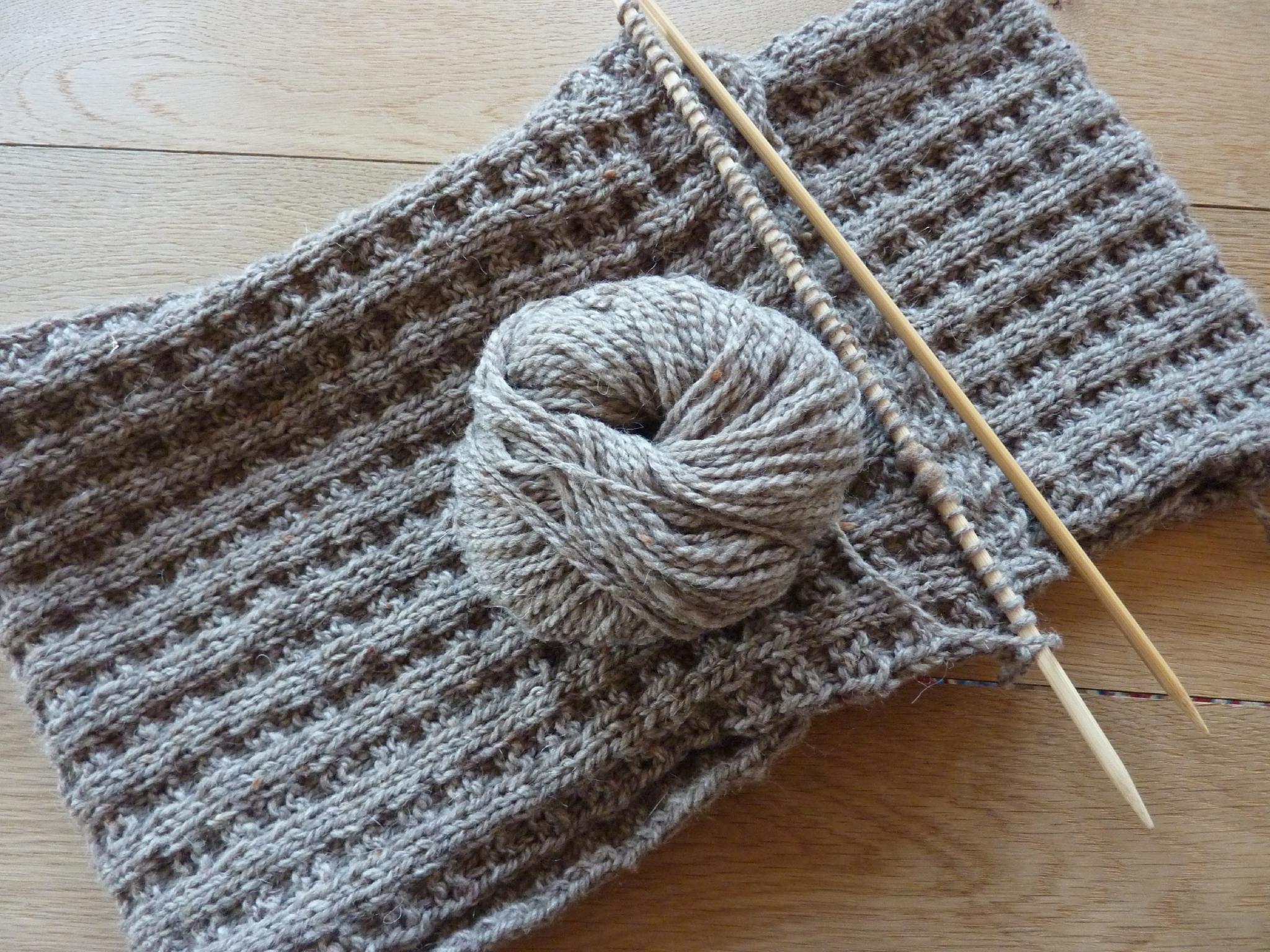 Tricoter une echarpe pour debutant - Idée pour s habiller 6c449f10713