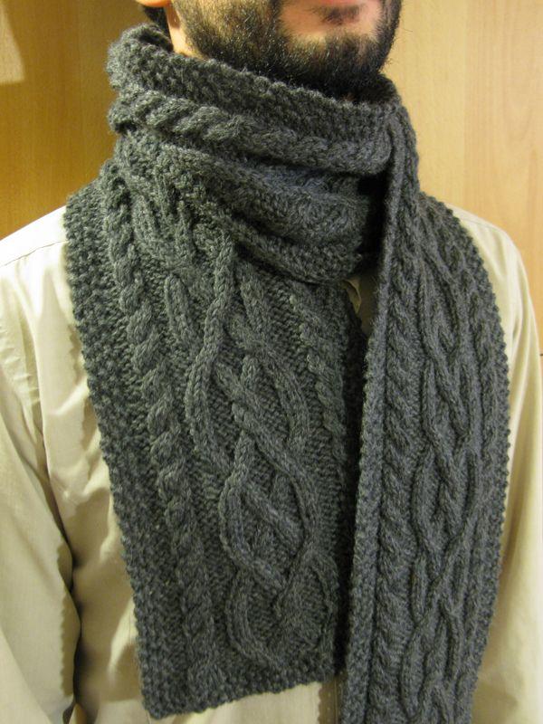 Modele echarpe au crochet pour homme - Idée pour s habiller fb1ab73274c