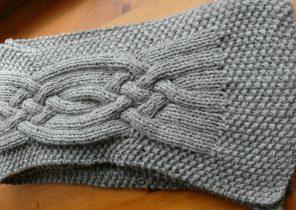 Echarpe laine grosse maille homme - Idée pour s habiller a75f713a8e3
