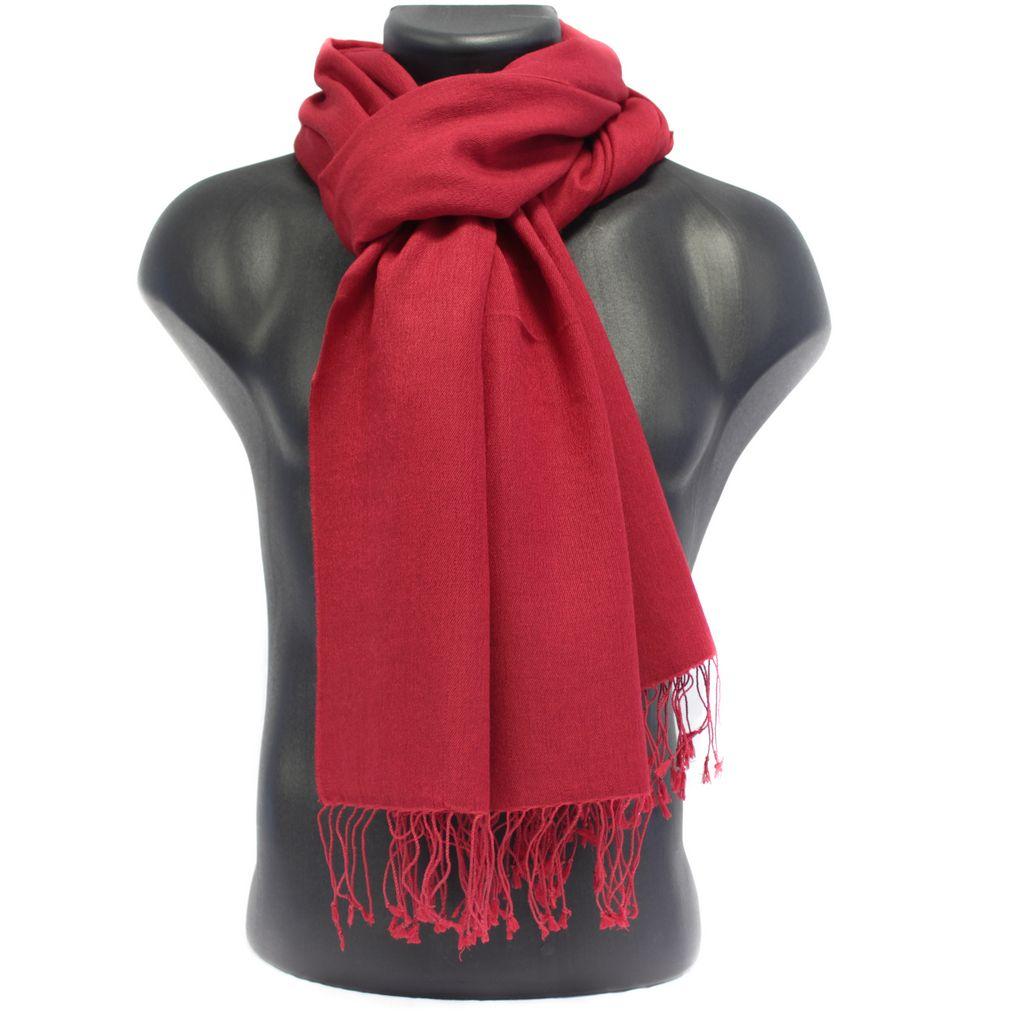 532c4737089f Echarpe homme cachemire rouge - Idée pour s habiller