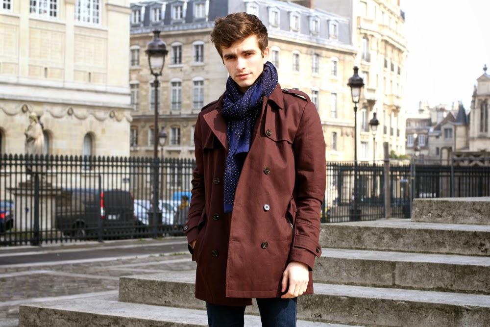 8db1c6a76ea7 Echarpe S habiller Coat Idée Trench Pour Homme YYqHwr