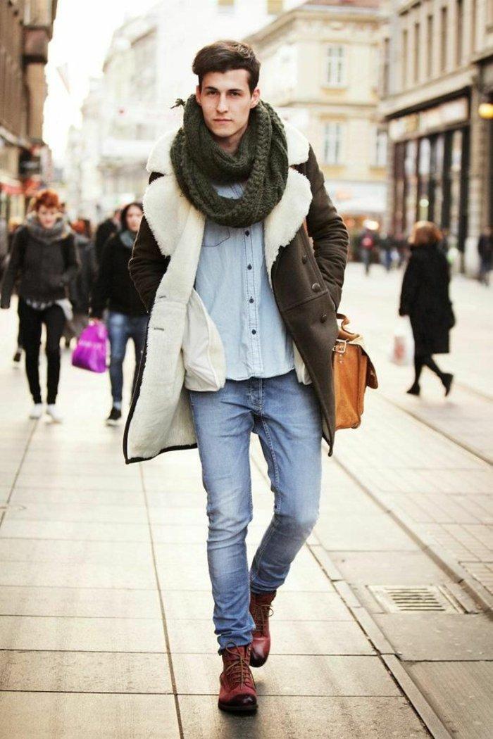 Comment porter une echarpe tube pour homme - Idée pour s habiller f96295f9179