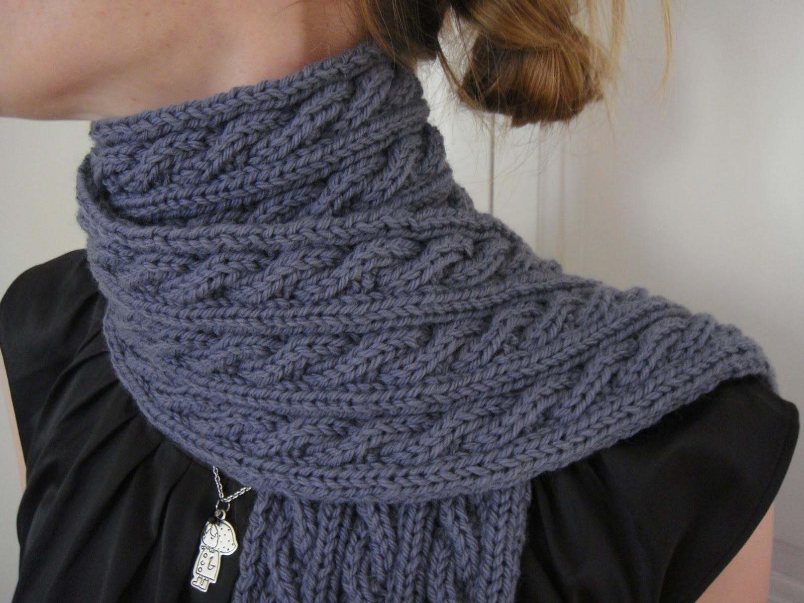 Torsade tricot echarpe - Idée pour s habiller affa2166905