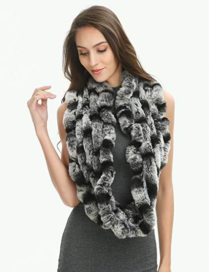 Echarpe en fourrure pour femme - Idée pour s habiller 3e4df8b0d80