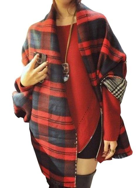 écharpe tartan rouge femme - Idée pour s habiller 35d57a734ab