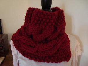 Grosse echarpe rouge - Idée pour s habiller cc4ff620b48