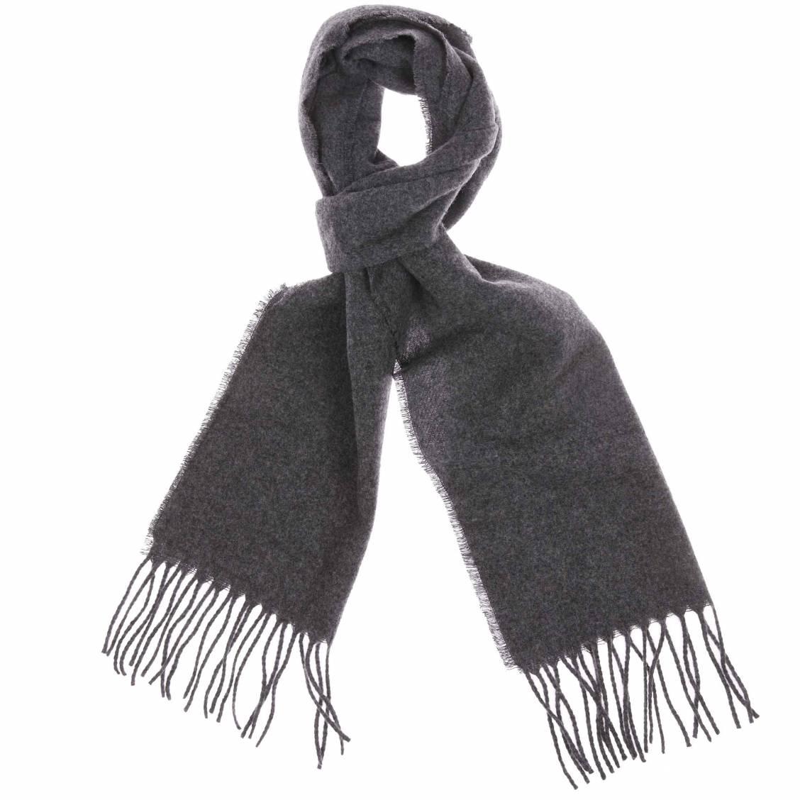 d997a0cce6c8 Echarpe laine noire homme - Idée pour s habiller