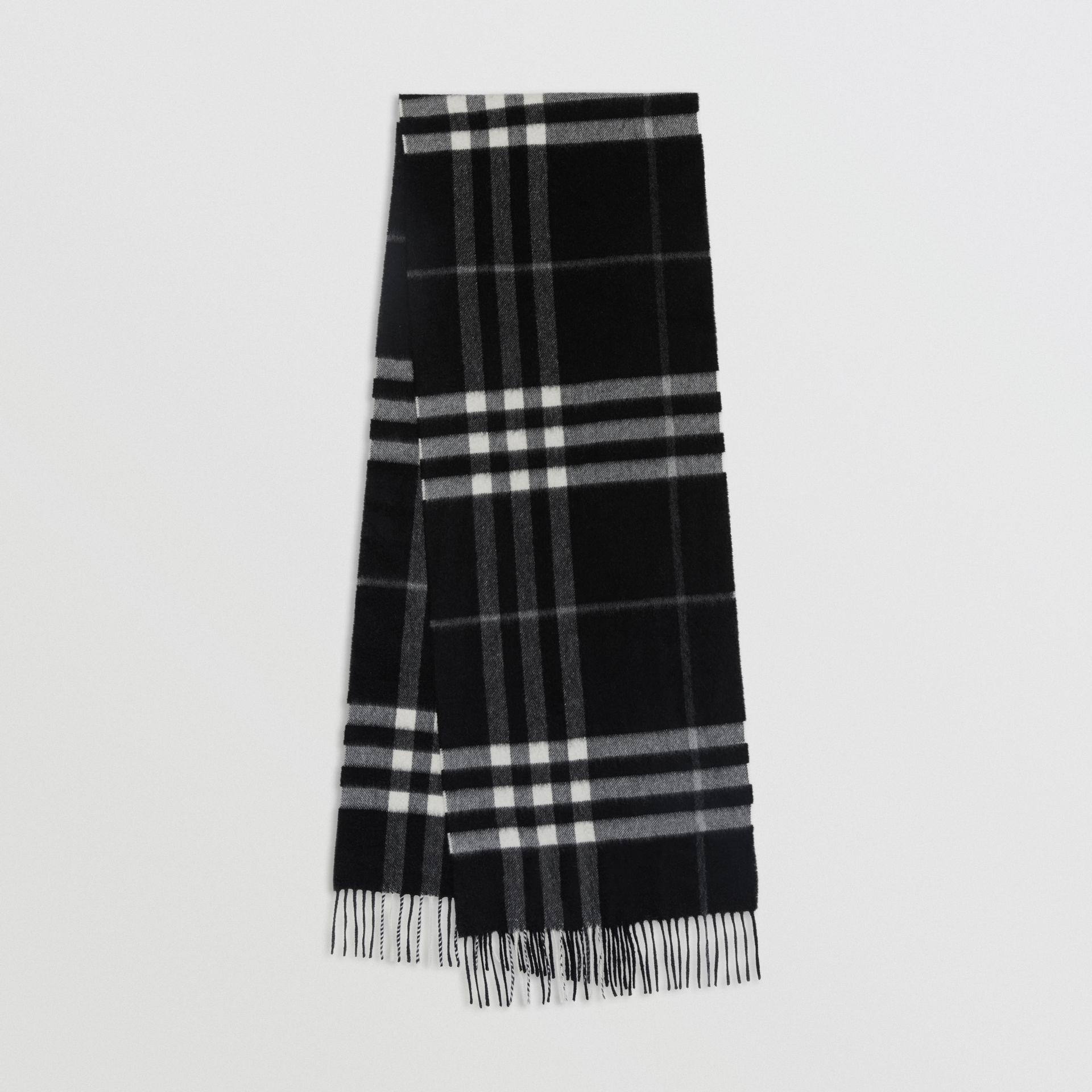 écharpe en cachemire à motif check classique - Idée pour s habiller 804a2806398