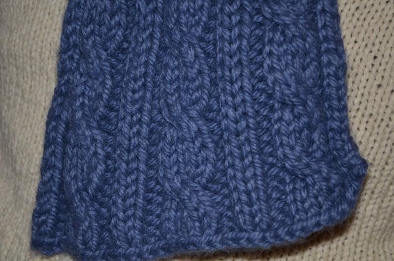 Tricoter écharpe homme avec torsade - Idée pour s habiller 71b104328af