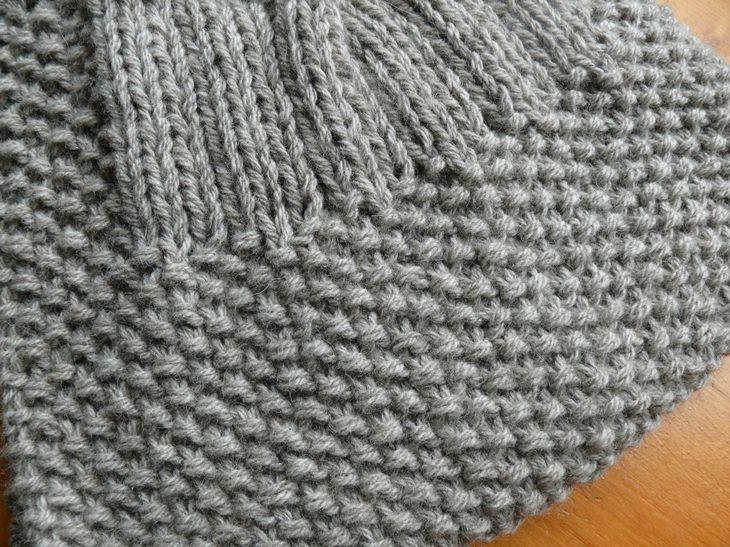 Modele echarpe point mousse - Idée pour s habiller 4a991e3744c