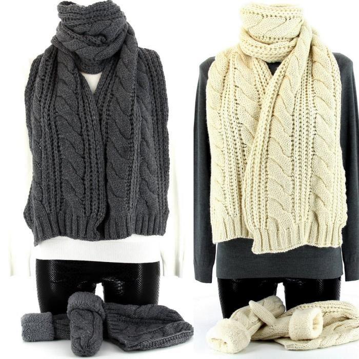 Echarpe et gants femme - Idée pour s habiller e9b9f4b8bdd
