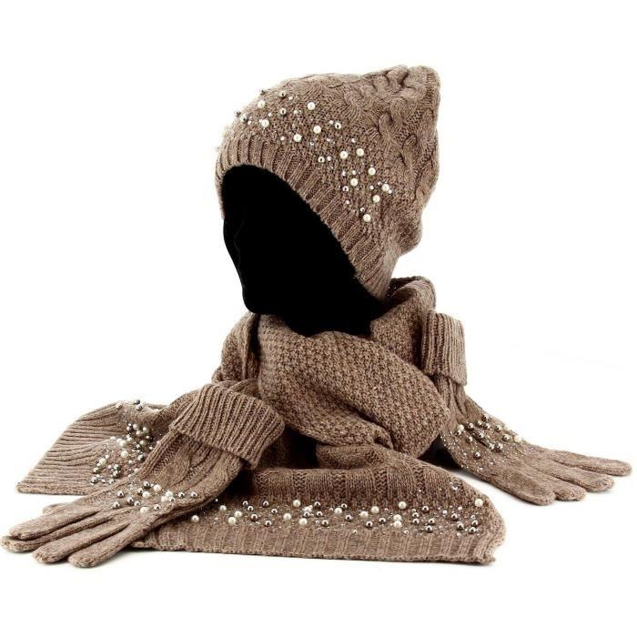 Ensemble bonnet gants écharpe homme - Idée pour s habiller 40af9c02705
