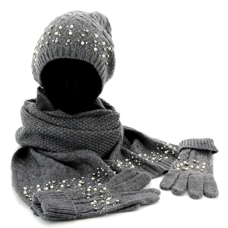 173ec326106e Ensemble echarpe bonnet et gants femme - Idée pour s habiller