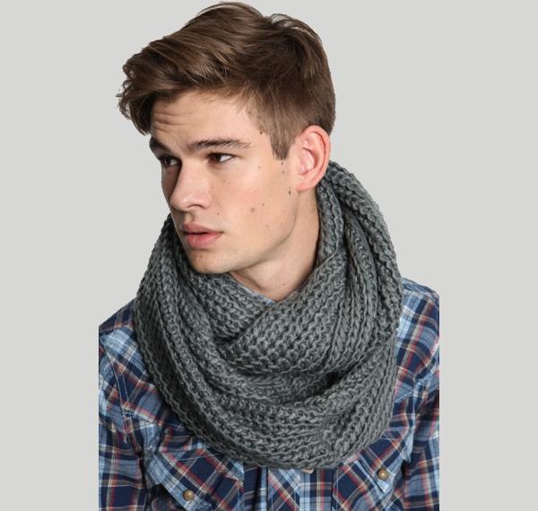 Echarpe hm homme - Idée pour s habiller b5a212f8743