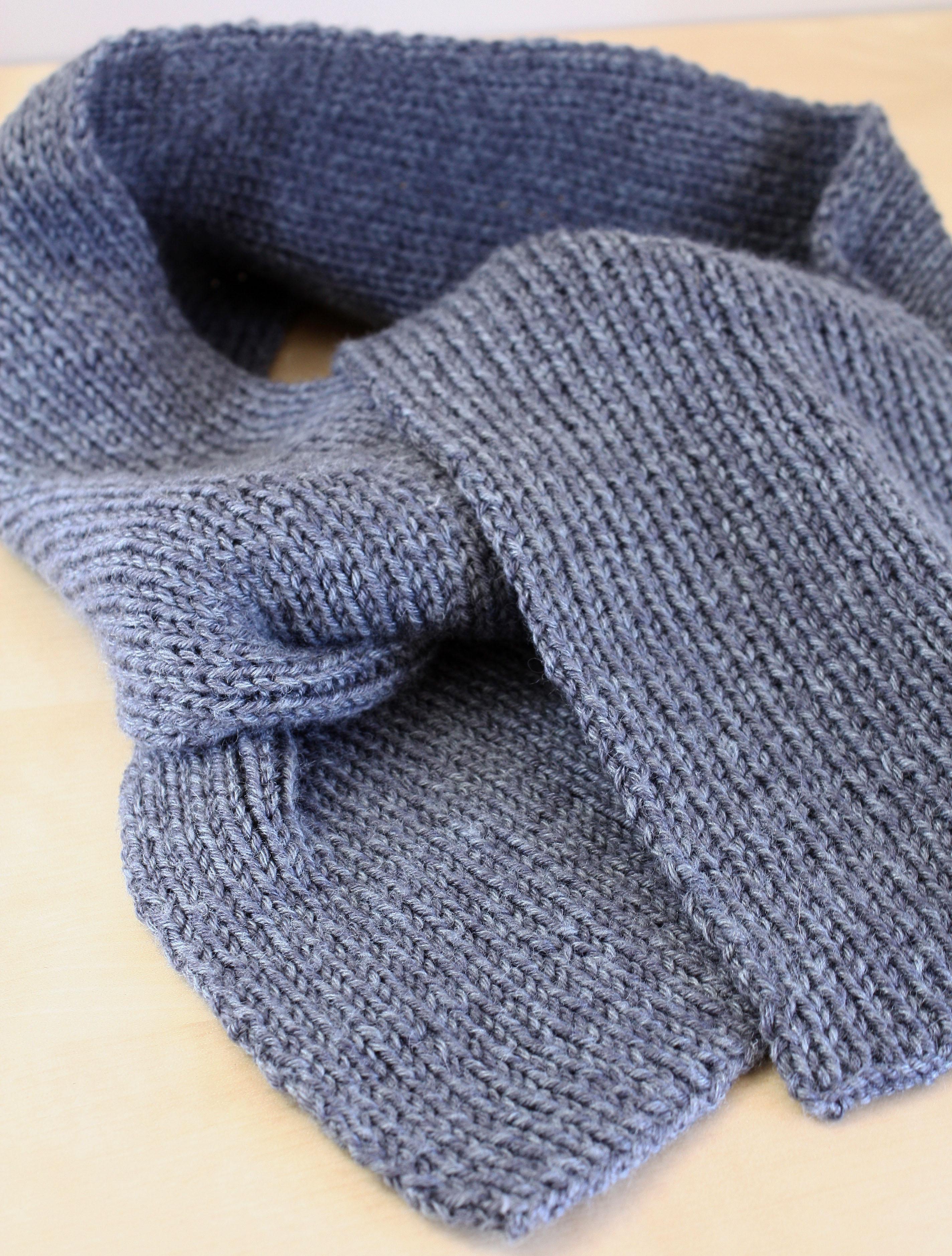 Echarpe homme tricotée - Idée pour s habiller 2639c562a2f