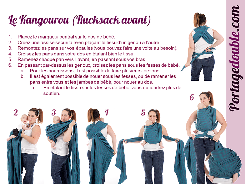 927a85e63f13 Noeud echarpe de portage dos - Idée pour s habiller