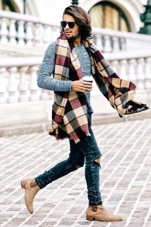 Plaid Idée Echarpe S habiller Pour Porter Homme Z1WwA51q c066d8cc2ba