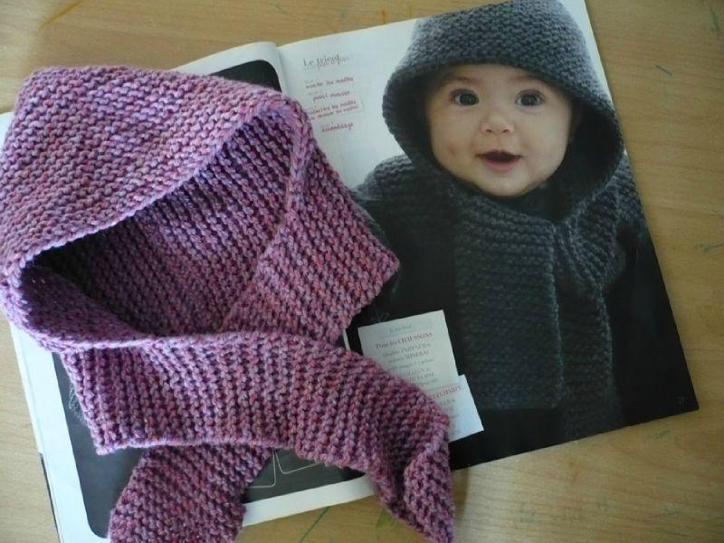 Echarpe et bonnet laine femme