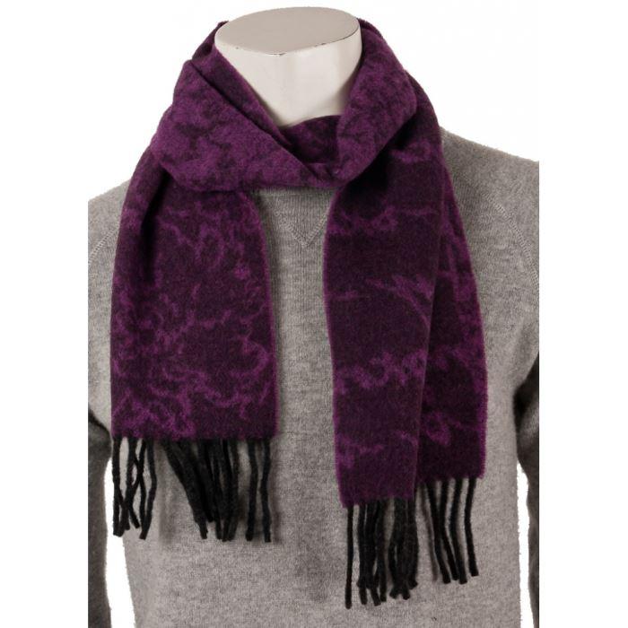 Echarpe homme violet - Idée pour s habiller bed29d7d97a