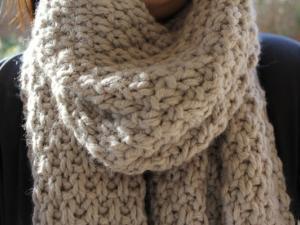 Joli point tricot pour écharpe - Idée pour s habiller c54851cf5a9