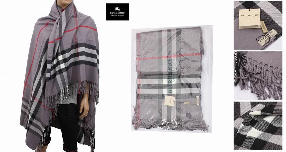 Echarpe burberry grise homme - Idée pour s habiller 18373f9c7f1