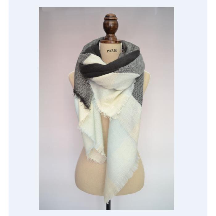 Grosse écharpe femme pas cher - Idée pour s habiller 4c252a55f3b