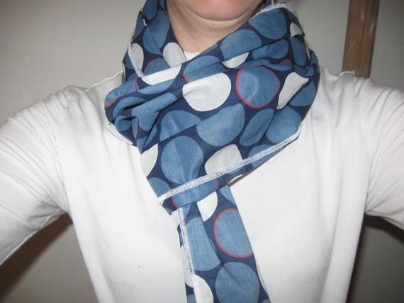 écharpe en coton femme - Idée pour s habiller 504296ba5a7