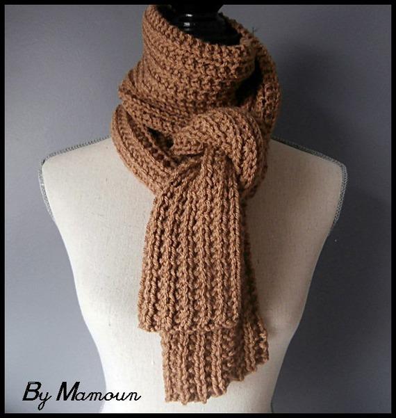 Echarpe couleur camel - Idée pour s habiller 3938d8d8b51
