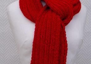 écharpe laine femme rouge - Idée pour s habiller b214130b9a3