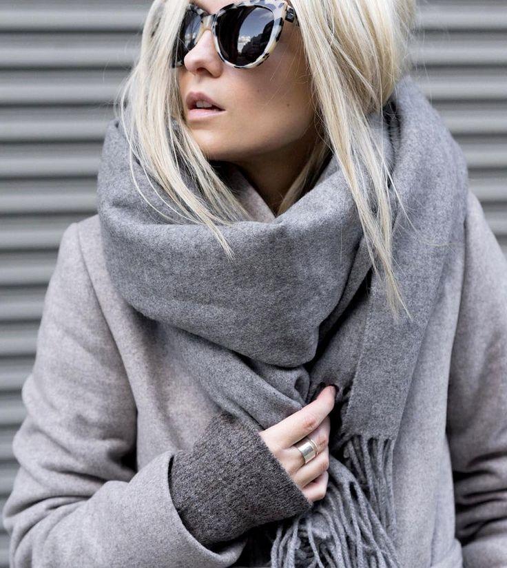 Porter echarpe plaid - Idée pour s habiller e841263abf2